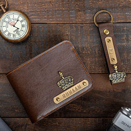 Online Personalised Wallet And Keychain:Fashion Accessories