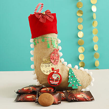 Dark Fantasy Choco Fills In Festive Xmas Stocking