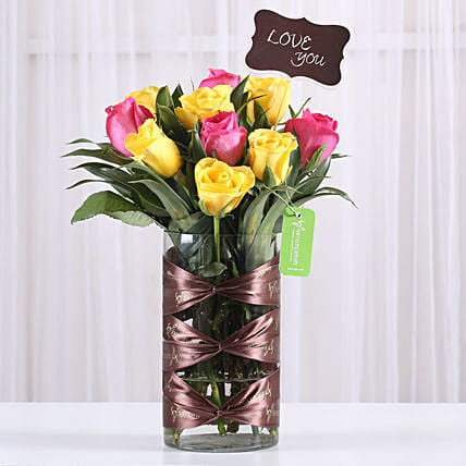 flower arrangement for him