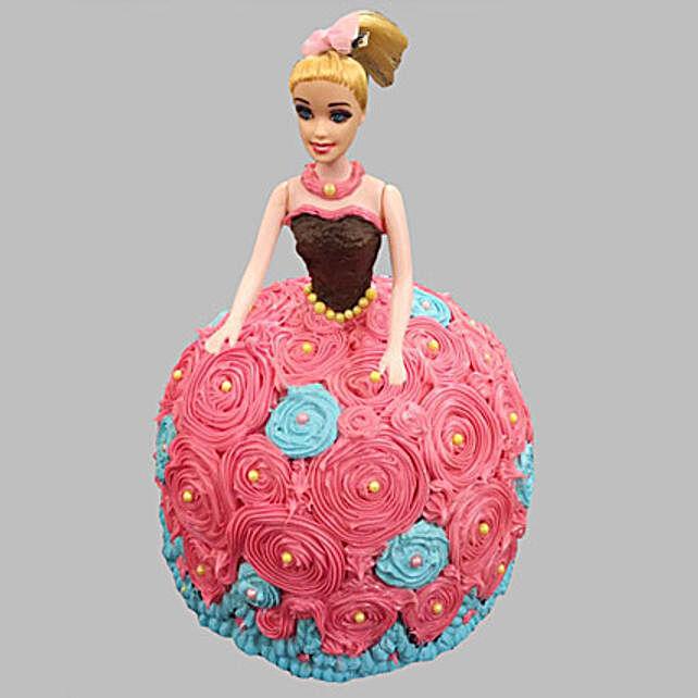 Barbie Doll Design Cake 2kg