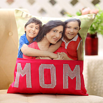 Dazzling Mom Cushion-1 personalized cushion for mom