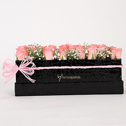 Online Pink Roses Bunch