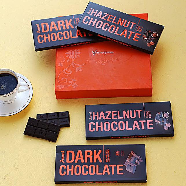 Online Delicious Amul Chocolate Bars Orange Box