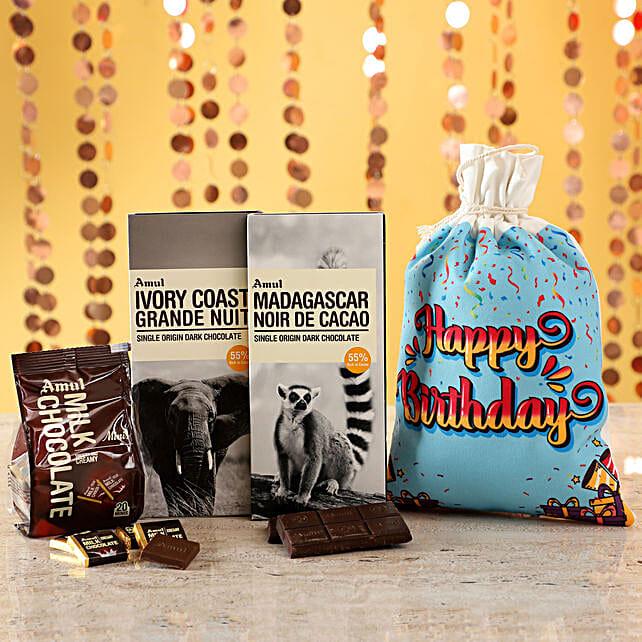 Online Chocolates For Birthday:Amul Chocolates