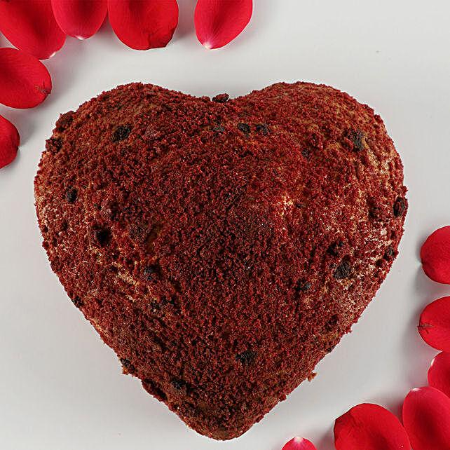 Red Velvet Crumble Dry Cake