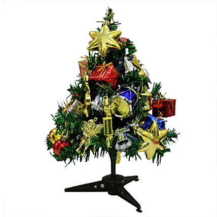 Delight your Christmas-1 feet tall fully decorated Christmas tree