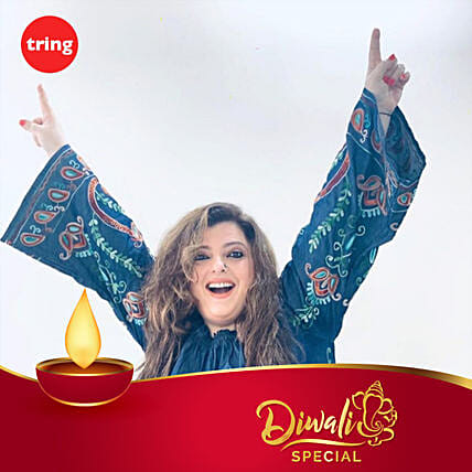 Delnaaz Irani- Diwali Personalised Video Message