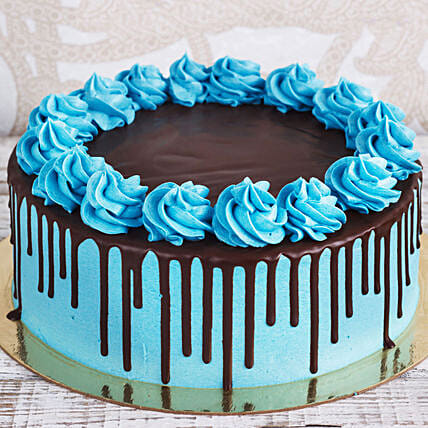Blue Chocolate Cake Online