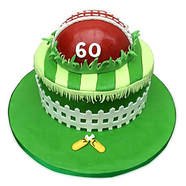 Designer Cricket Fever Cake 3kg Eggless Truffle
