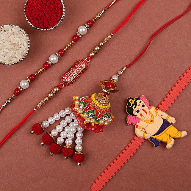 Buy Online Designer Rakhi