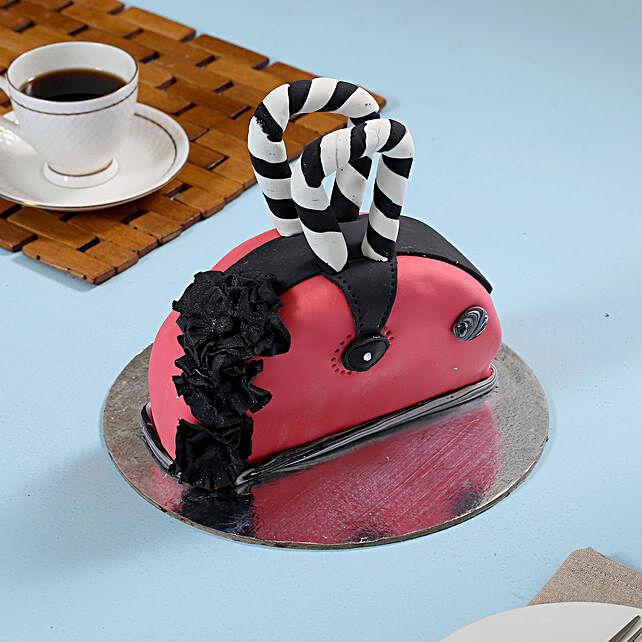 Purse shape cake online