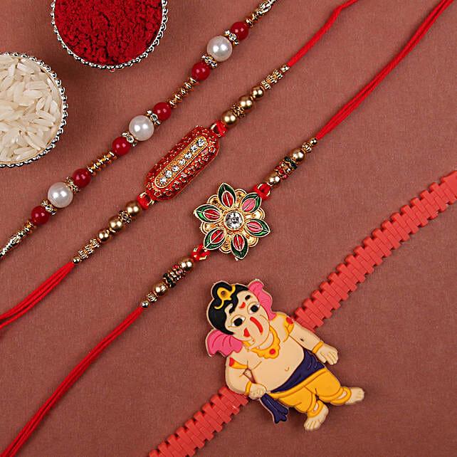 Online Designer Rakhi Set