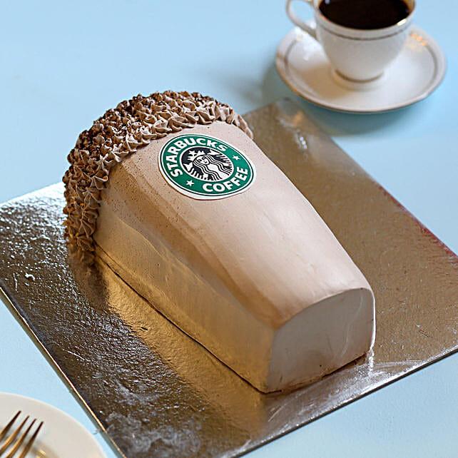 Designer Starbucks Cake 2kg