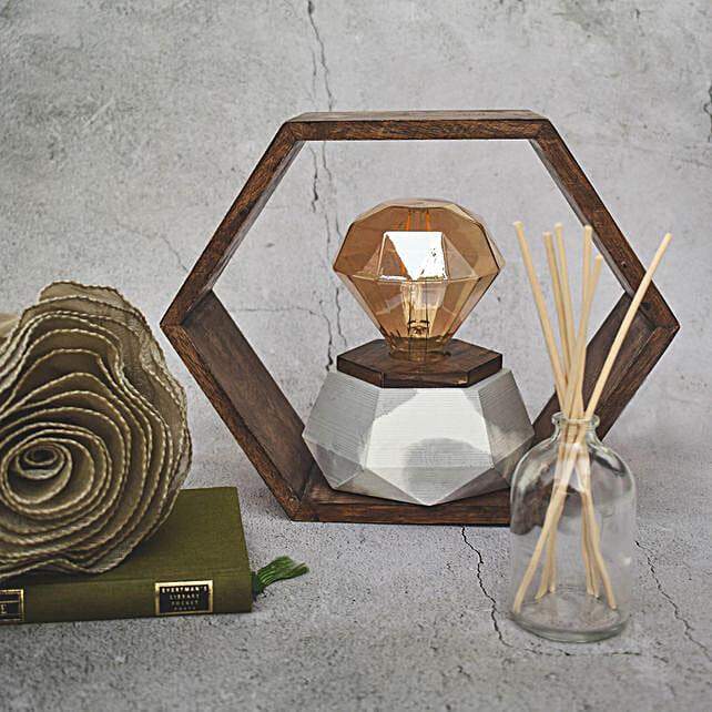 Diamond Shape Infinity Lamp