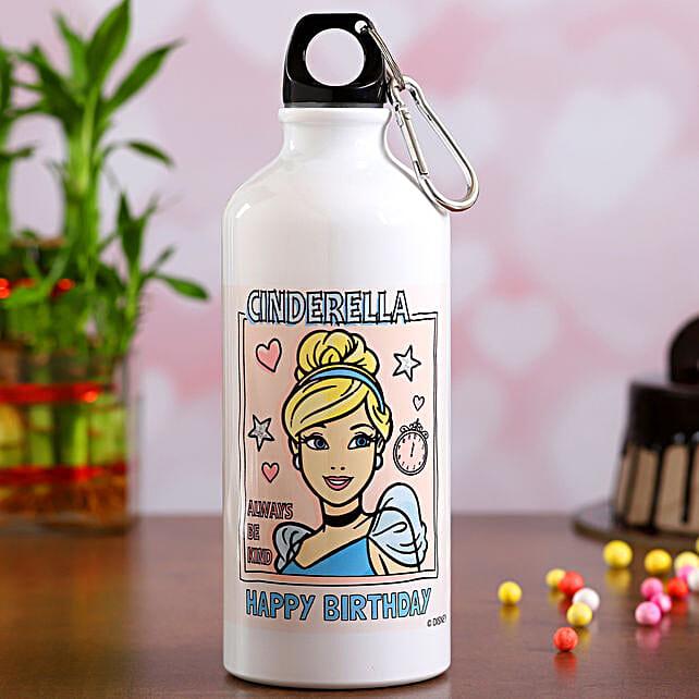 Disney Cinderella Birthday Surprise Water Bottle