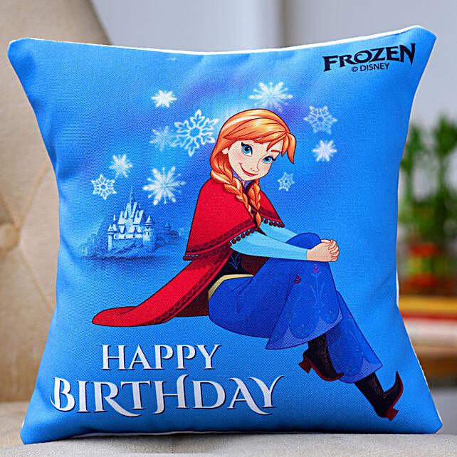 Disney Frozen Happiest Birthday Cushion