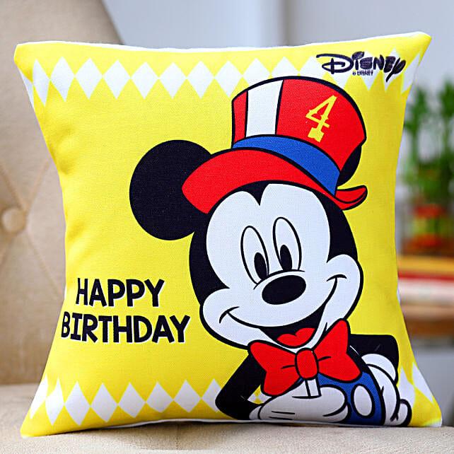Disney Mickey Mouse Birthday Cushion