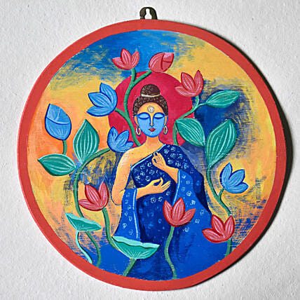 Divine Buddha Wall Hanging:Send Unique Gifts