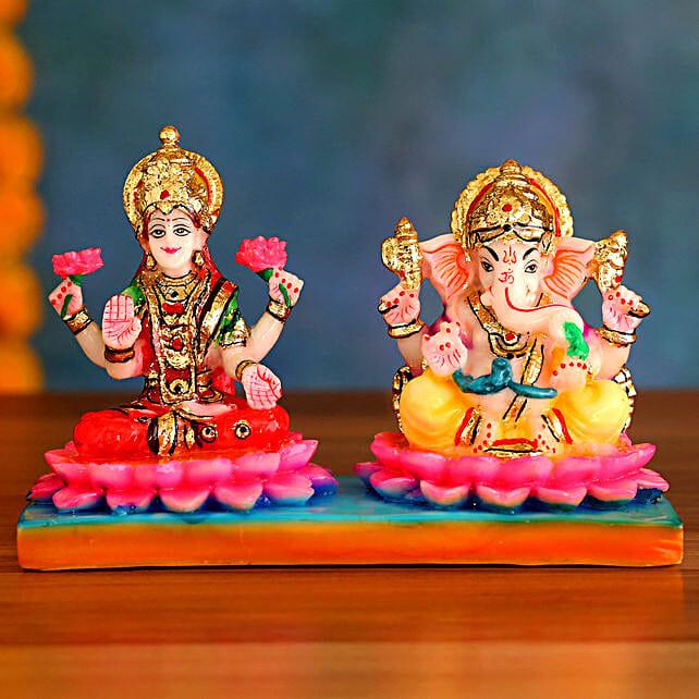 Divine Lakshmi Ganesh Idols