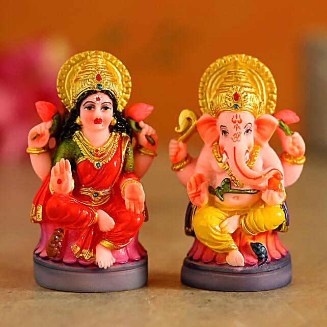Divine Lakshmi Ganesha Idols