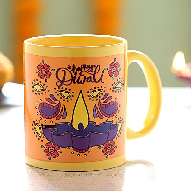 Diya Printed Coffee Mug Online