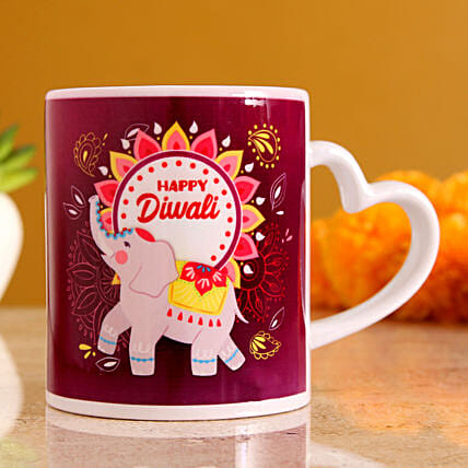 online personalised mug for diwali:Coffee Mugs