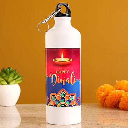 personalised bottle  for water diwali