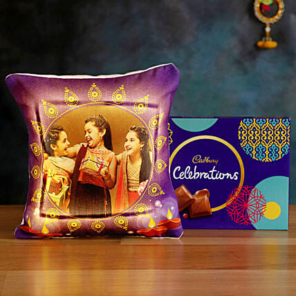 Order LED Cushion with Cadbury