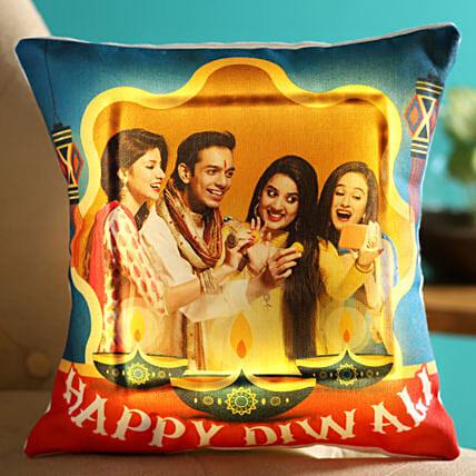 diwali celebration led cushion online:Diwali Cushions