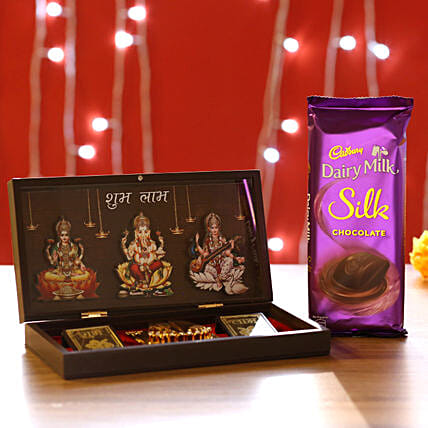 Diwali Pooja Box & Chocolate Online