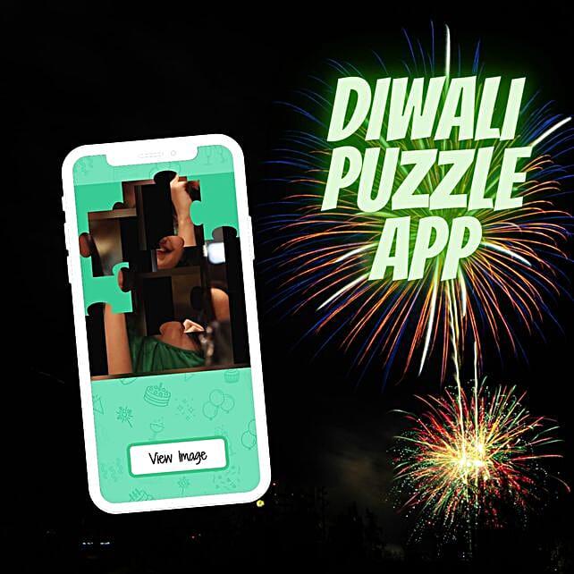 Online Diwali Puzzle App