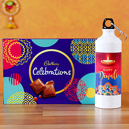 Send  Bottle with Chocolates