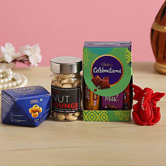 Sweets With Ganesha N Cashews