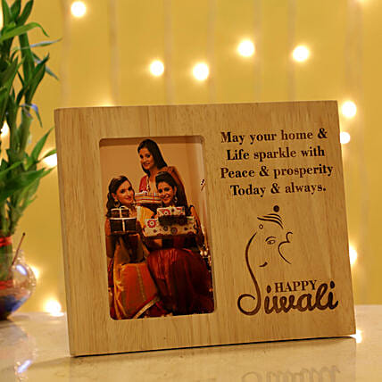 Online Personalised Photo Frame For Diwali