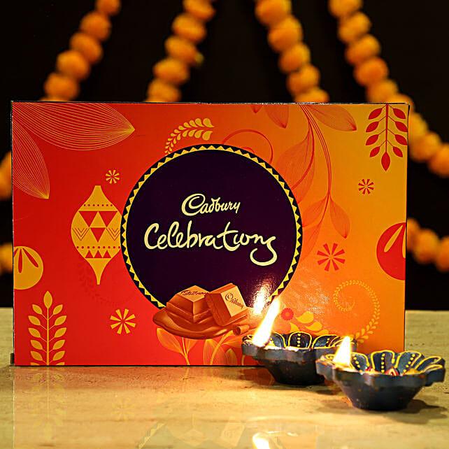 Online Diya & Cadbury Chocolates:Diwali Gifts for Kids