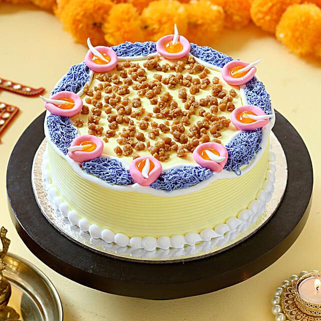 custom diya cake online