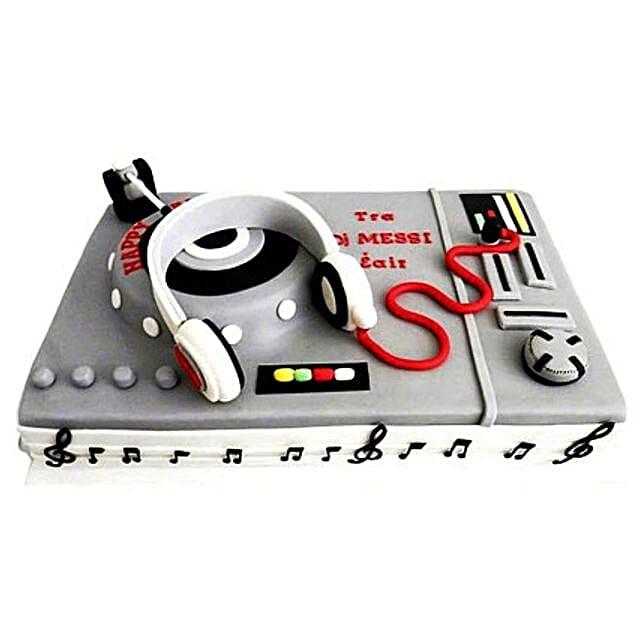 DJ Special Cake 4kg Black Forest