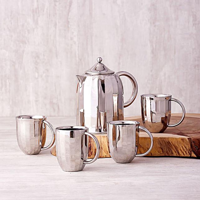Online Dome Coffee Pot & Mugs