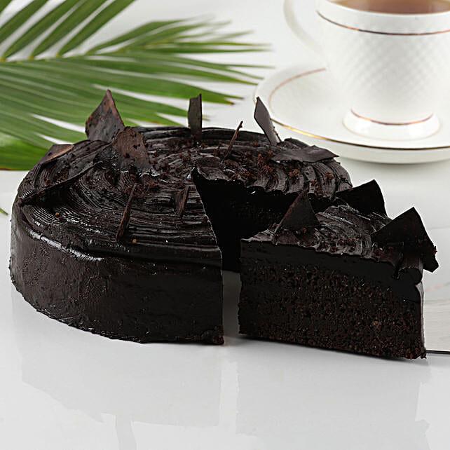 Dark Chocolate Sugar free Cake:Gluten Free Desserts