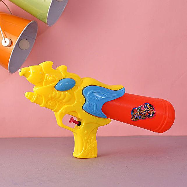 Dragon Yellow And Orange Water Gun