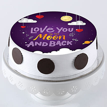 Special Cake for Karwa Chauth