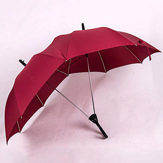 dual umbrella red online