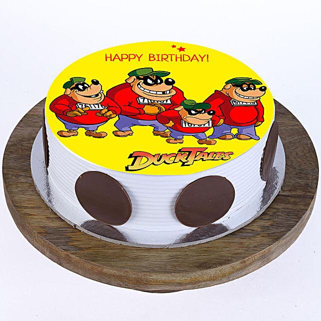 Birthday Cartoon Cake For Kid