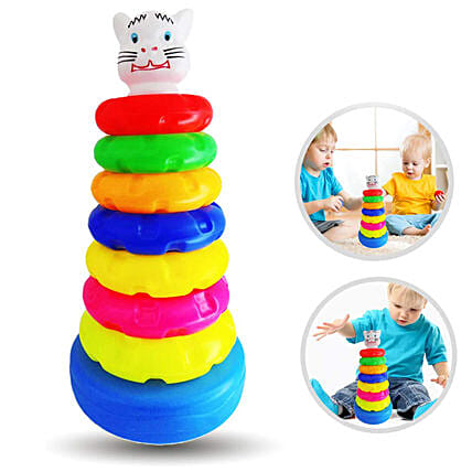Plastic Toys Rings Game for Kids:Educational Games