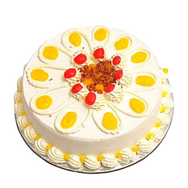 Eggless Butterscotch Cake Half kg by FNP