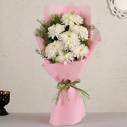 Elegant Chrysanthemum Bouquet:Chrysanthemum Flower