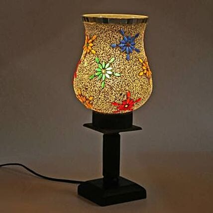 Hand Decorative Glass Table Lamp