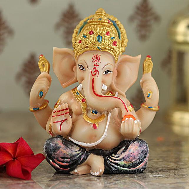 elegant lord ganesha idol:Idols