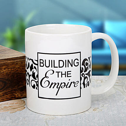 Emperor to Reign-White Mug with Print