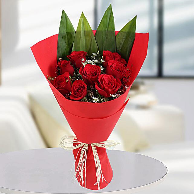 Roses Bunches Online:Designer Flower Bouquet